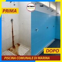 M5S: Ristrutturati e migliorati gli spazi della piscina comunale di Marina e della palestra in uso al Club Scherma Apuano