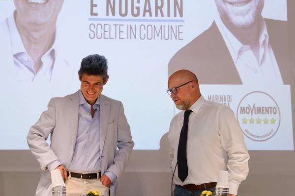 Via alla campagna elettorale con Nogarin: De Pasquale è pronto a fare il sindaco