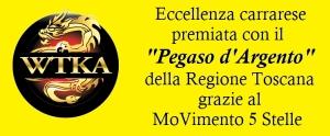 Il Pegaso d'Argento a WTKA Italia di Carrara grazia al M5S Toscana