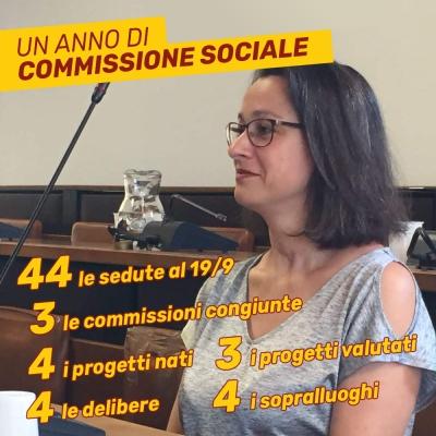 Relazione Annuale Commissione IV - Politiche Sociali