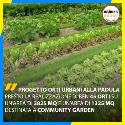 """Riparte il progetto """"Orti Urbani"""". Modifiche e implementazioni illustrate nelle Commissioni."""
